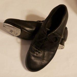 Bloch soft leather 6m tap shoes black